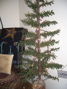 """30"""" Feather wool tree link and tutorial"""