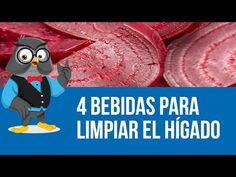 4 Bebidas Para Limpiar El Hígado - YouTube