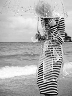 Haute Design by Sarah Klassen: Weekly Finds № 62 Clear Raincoat, Pvc Raincoat, Hooded Raincoat, Transparent Raincoat, Transparent Umbrella, Clear Umbrella, Girls Raincoat, Dark Look, Under My Umbrella