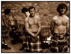 The only men that I will accept look ten times better than me in a skirt. Irish men for the win darlings.