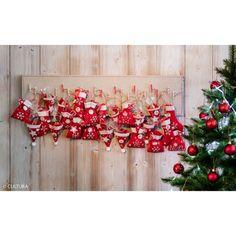 8 étoiles en feutre - 5 cm - blanc - 2 mm - Noël Scandinave