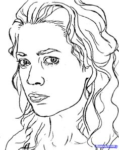 Walking Dead Characters Coloring Pages
