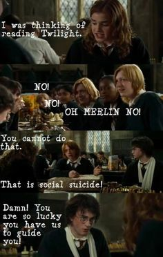 and this goes to show how Harry Potter is sooooo much better than TWilght! haha