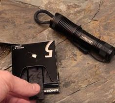 01 gum and flashlight