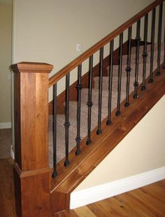 Beautiful Rod Iron Stair Railing Spindles More
