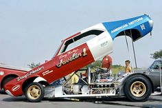 drag racing team listings from plus drag racing photos, stories, links, community, and much more! Funny Car Drag Racing, Funny Cars, Auto Racing, Amc Javelin, Nhra Drag Racing, American Motors, Drag Bike, Vintage Race Car, Drag Cars