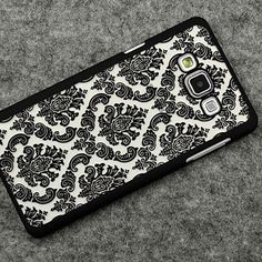 Retro Hard Plastic Case For Samsung Galaxy A5 J7 J5 2016 Cover Vintage Damask Flower Cover Case For Samsung A5 A7 A3 2016 A8