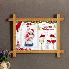 Make your memories of Christmas be unforgettable with a personalized magical christmas photoframe. Magical Christmas, Christmas Is Coming, Christmas Time, Merry Christmas, Christmas Gifts, Online Gift Store, Online Gifts, Personalized Photo Frames, Memories
