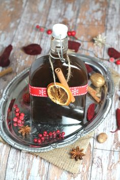 Homemade Mulled Wine Syrup. Make your own refined sugar version this Christmas for the ultimate festive tipple!