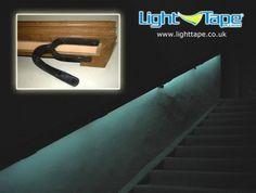 Light Tape® Illuminates Nunnington Hall Stairs for Exit in Emergency  http://www.lighttape.co.uk