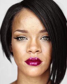 Martin Schoeller, Rihanna, CAMERA WORK