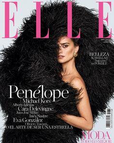 Penelope Cruz for Elle Spain February 2018