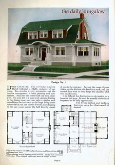 I have always d Dutch Colonial homes....and this 1923 Sears ... Colonial Homes Designs For T on designs for manufactured homes, designs for log homes, designs for victorian houses, designs for bi level homes, designs for ranch style homes,
