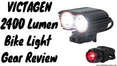 Victagen K2D 2400 Lumen Bike Light Gear Review