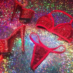 Dance Outfits, Sexy Outfits, Cute Outfits, Pole Dance, Dance Silhouette, Stripper Heels, Exotic Dance, Cute Lingerie, Red Aesthetic