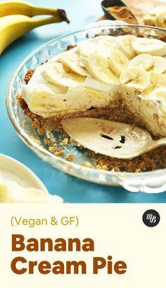 Raw Desserts, Vegan Dessert Recipes, Vegan Sweets, Healthy Desserts, Gluten Free Baking, Vegan Baking, Tostadas, Vegan Pie, Baker Recipes