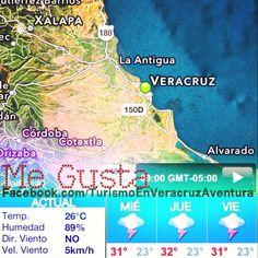 Buenos días a todos feliz #miercoles el #clima mejora en #Veracruz y #megusta http://www.facebook.com/TurismoEnVeracruzAventura #Mexico