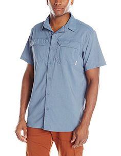 5d5def95da9 Amazon.com : Columbia Sportswear Men's Royce Peak II Short Sleeve Shirt :  Sports & Outdoors