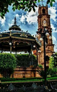 Kiosko y torre de Jesus Maria, Jalisco