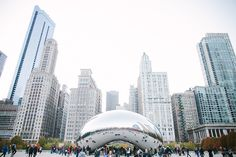 Chicago and the bean