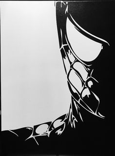 Items similar to Spider-Man Canvas on Etsy Stencil Art, Stencils, Comic Books Art, Comic Art, Art Sketches, Art Drawings, Arte Do Harry Potter, Spiderman Art, Spiderman Stencil