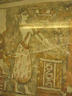 Hagia Triada Sarcophagus Detail: Basin