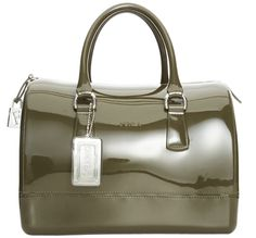 FURLA CANDY BAG IN ARMY