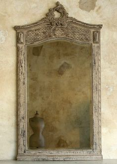 One of Kind Vintage European Mirror