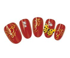 NiceDeco  nail stickers nail tattoo nail deacl water transfers decals shiney silver script swirls -- Be sure to check out this awesome product.