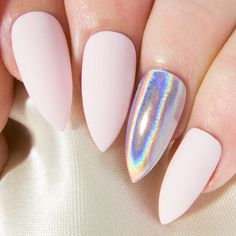 Matte Fake Nails Stiletto Press On Nails Pointy Glue On