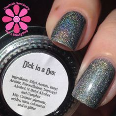 Girly Bits Polish , Dick In a Box I have this coming in the mail