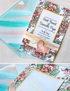 Danni P. – Peony Wedding Invitations