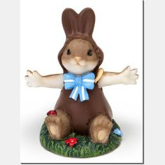 Charming Tails Easter Resin Figurines