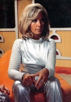 Wanda Ventham (the mother of Benedict Cumberbatch) as 'Colonel Virginia Lake'… Sherry Jackson, Yvonne Craig, Sci Fi Tv Series, Sci Fi Tv Shows, Wanda Ventham, Science Fiction Series, Fantastic Show, Space Girl, Space Age
