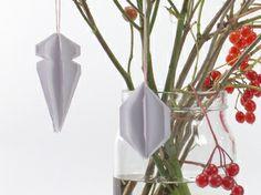 DIY weihnachtliche Ornamente // DIY ornaments for christmas by DaWanda via DaWanda.com