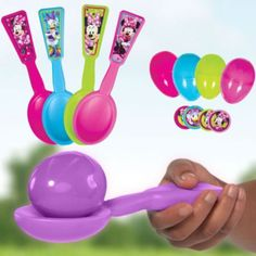 Minnie Mouse Egg Relay Game - Party City