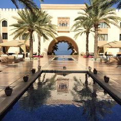 Shangri-La Hotel Al Husn, Muscat, Oman. Photo courtesy of chicflavours on Instagram.