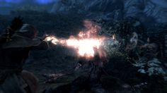 My new favorite screenshot. Lydia hit the troll in the forehead with an arrow as he was going down (to add insult to injury) #games #Skyrim #elderscrolls #BE3 #gaming #videogames #Concours #NGC