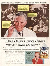 "Ahhh!  I nice ""rejuvenating"" cigarette.  What were we thinking???"