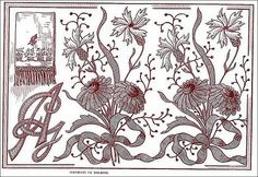 1911 embroidery pattern   Flickr - Photo Sharing!
