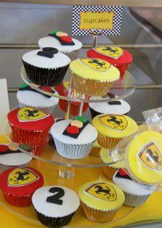 boys party cupcakes