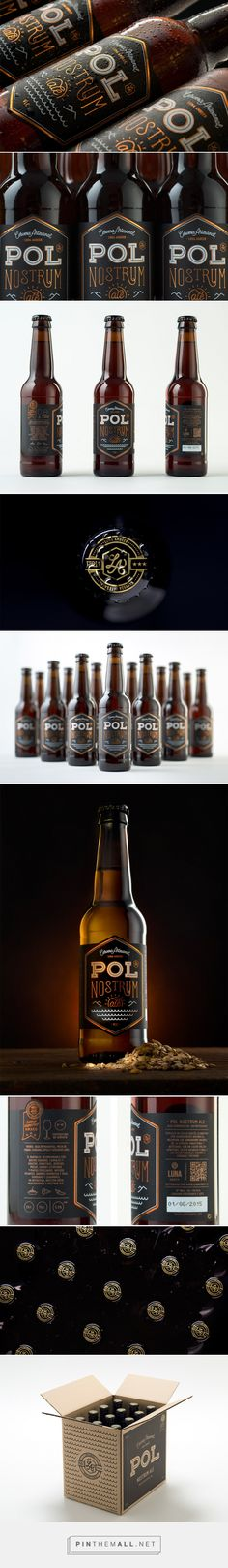 Pol Nostrum Ale - Packaging of the World - Creative Package Design Gallery - http://www.packagingoftheworld.com/2017/02/pol-nostrum-ale.html