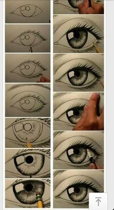 17 Diagrams That Will Help You Draw (Almost) Anything Last year i learned how to draw a realistic eye and i would like to learn how to do this as well. Drawing Techniques, Drawing Tips, Drawing Sketches, Pencil Drawings, Painting & Drawing, Drawing Ideas, Eye Sketch, Drawing Faces, Drawing An Eye