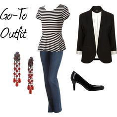 """""""Go-To Outfit"""" by alphaangel8068 on Polyvore"""