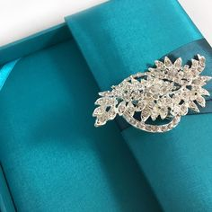 Teal Color Invitation Box For The Bride of Today