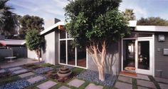 Mid-century modern Ralph Haver home in Arcadia