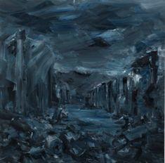 Yan Pei-Ming (b. 1960), Ruines du temps réel / Ruins of real time, 2015