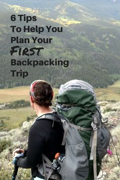 If you're new to backpacking and don't even know where to start - start here! #backpacking