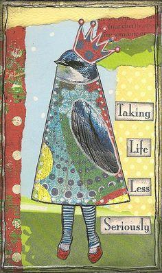 bird people 6 by nayski (Renee Stien), via Flickr
