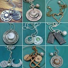 The Vintage Pearl Handstamped Jewelry www.decorchick.com